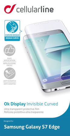 Cellular Line Protection d'écran Galaxy S7 edge
