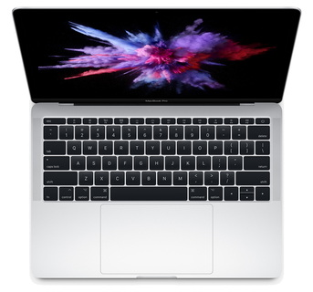 "MacBook Pro 13,3"" Core i5 2,3 GHz 256 GB Zilver"