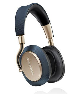 B&W Bowers & Wilkins PX Casque Sans Fil - Or, Bleu