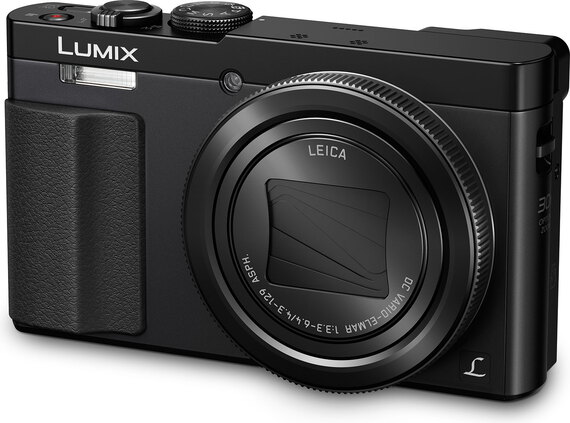 Panasonic Lumix TZ70 Noir + Carte SD 8 Go + Sac de transport