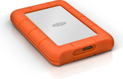 Lacie Rugged Mini 1 TB Oranje
