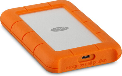 Lacie Rugged Mini 1 TB Oranje USB Type C