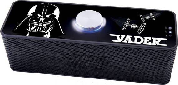 Lexibook Star Wars Enceinte Bluetooth - Dark Vador,  Darth Vader