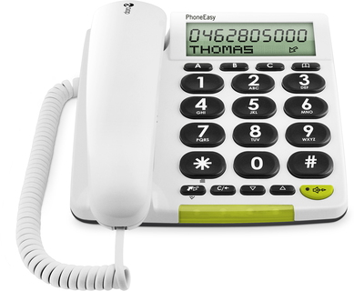 PhoneEasy 312cs Blanc