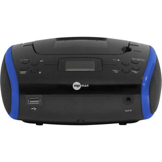 MP Man Boombox radio met CD
