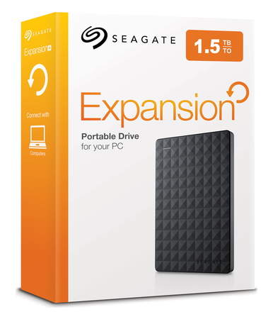 Seagate Expansion 1,5 To Noir