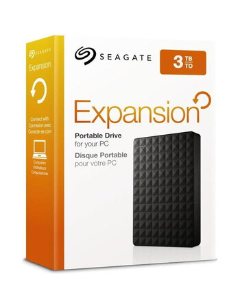 Seagate Expansion 3 To Noir