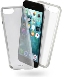 SBS Clear Fit Cover voor iPhone 7 Plus/8 Plus - Transparant