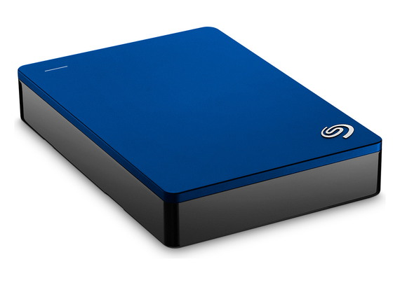 Backup Plus Portable 4 TB Blauw