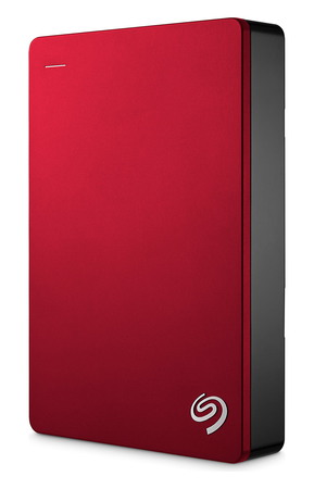 Seagate Backup Plus Portable 5 To Rouge