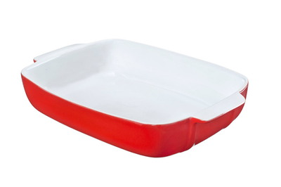Pyrex Plat à four Signature Red - 5L - 30x22cm
