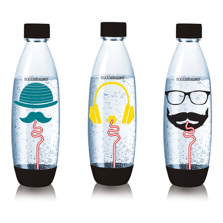 Sodastream Tri-Pack bouteilles Fuse Hipster 1L