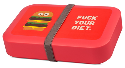 Classic Lunchbox Large - DBP - rood of zwart