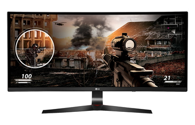 "34"" UltraWide Curved monitor 34UC79G-B Zwart"