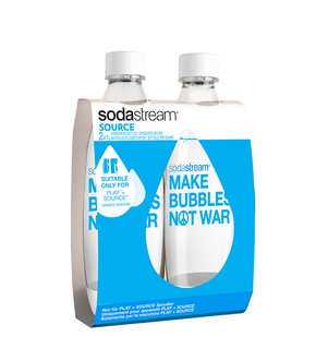Duo-Pack Make bubbles not war 1L