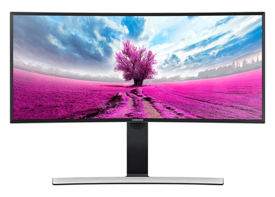 "34"" Ultra WQHD Curved monitor LS34E790CNS Zwart"