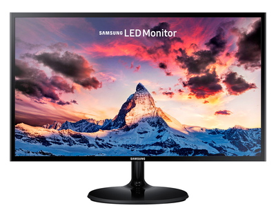 "24"" Full HD monitor LS24F350FHUX Zwart"