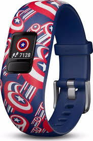 Vivofit JR 2 Captain America (S)