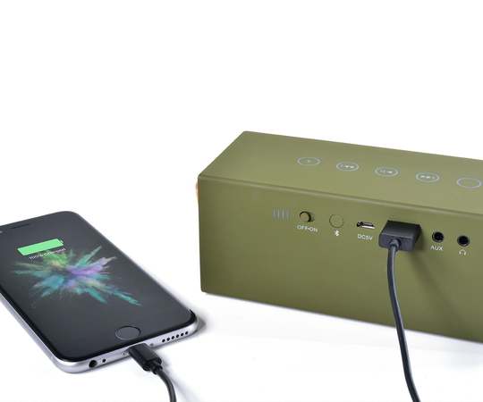 Fresh 'n Rebel Rockbox Brick Bluetooth Speaker - Army