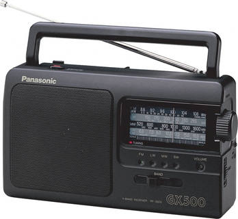 Panasonic RF-3500E9-K Radio portable FM