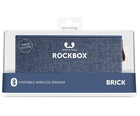 Fresh 'n Rebel Rockbox Brick Bluetooth Speaker - Indigo