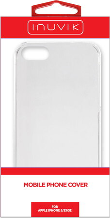 Inuvik Hard Shell iPhone 5/5s/SE Clear