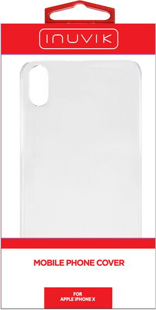 Inuvik Hard Shell iPhone X Clear