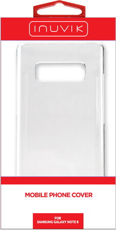 Inuvik Hard Shell Galaxy Note8 Clear