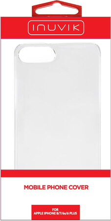 Inuvik Hard Shell iPhone 8+/7+/6s+ Clear