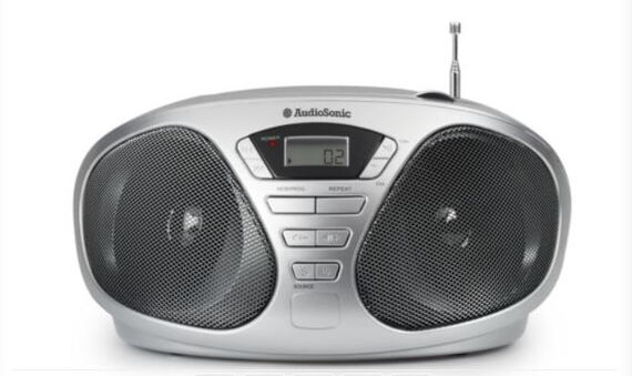 Audiosonic CD-1569 Digitaal 6W CD radio - Grijs