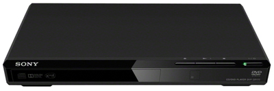 Sony DVP-SR170B DVD player Noir