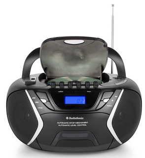 Audiosonic CD-1596 Numérique 6W Noir radio CD