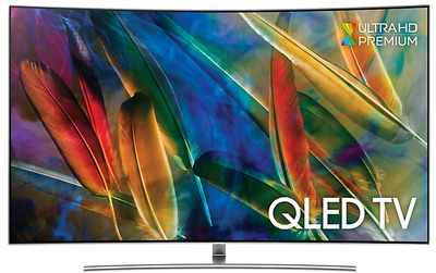 "Samsung TV QE55Q8C - 55"" 4K Ultra HD Smart QLED TV"