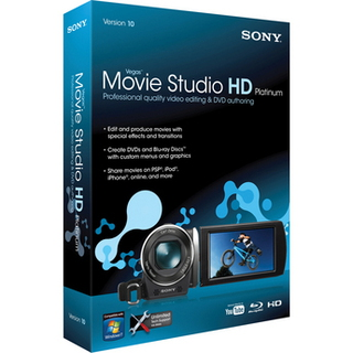 Sierra Sony Vegas Movie Studio HD Platinum 10