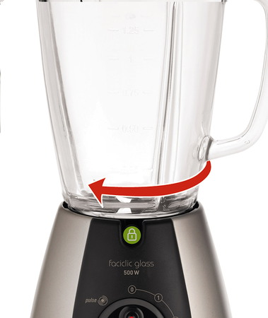 Moulinex Blender Faciclic glass LM310