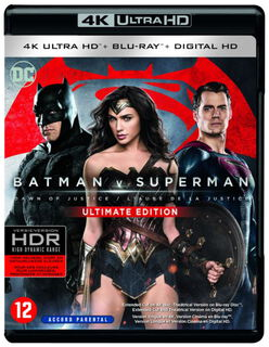 CLD Distributio Batman V Superman Dawn Of Justice 4k blu-ray