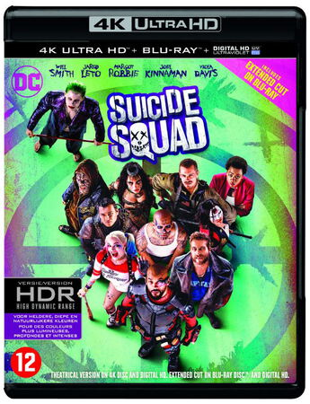 CLD Distributio Suicide Squad 4K Ultra HD Blu-Ray