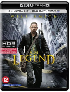 CLD Distributio I Am Legend 4k Ultra HD Blu-ray