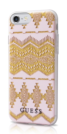 Guess Backcover Tribal pour iPhone 7 - Beige