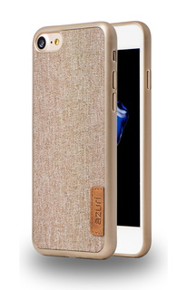 Azuri Backcover Elegante voor iPhone 7 - Beige