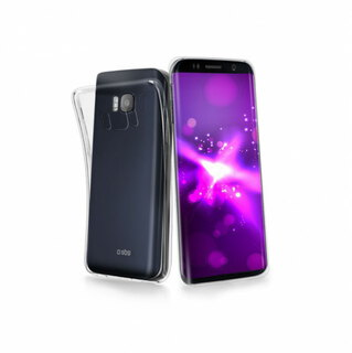SBS Backcover voor Galaxy S8+ - Transparant