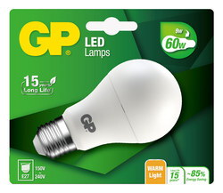 GP Mini Globe 3,5W E27 A+ LED