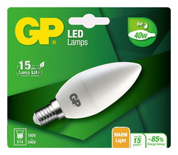 GP Mini Candle 6W E14 A+ LED