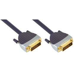 Bandridge DVI-D + DVI-D câble - 5m - SVL1405