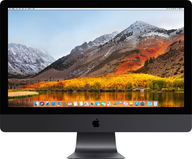 Apple iMac Pro Retina 5K Intel Xeon W 3,2 GHz Spacegrijs