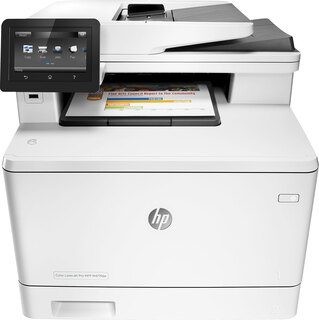 HP LaserJet Color MFP M477FDW Blanc