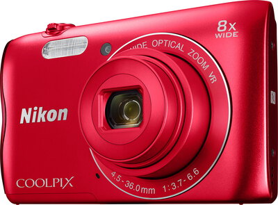 Coolpix A300 20,1 MP HD Rouge