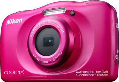 Coolpix W100 13,2 MP Full HD Rose
