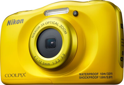 Coolpix W100 13,2 MP Full HD Jaune