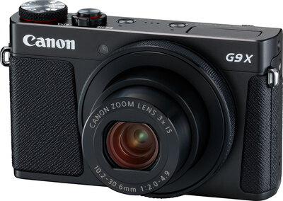 PowerShot G9 X Mark II 20,1 MP Full HD Noir